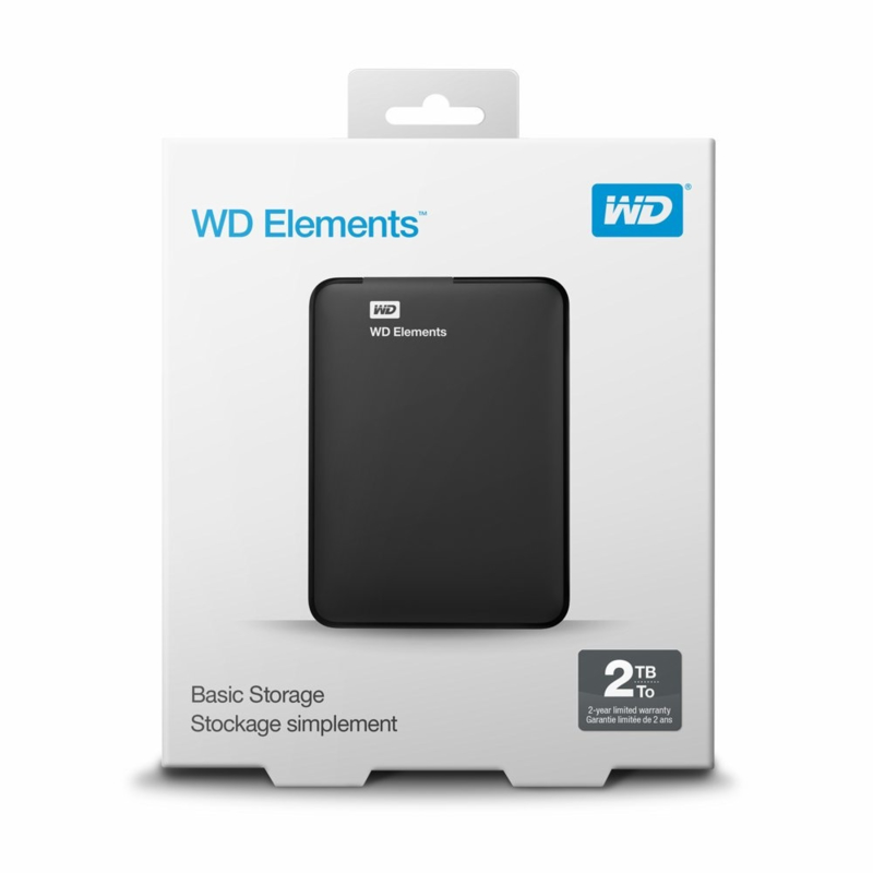 2TB Western Digital Elements 2,5""