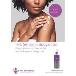 HFL Flyer Sensafin Bodylotion - 10 stuks