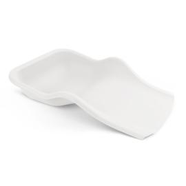 Opvangschaal siliconen wit