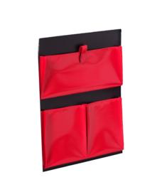 Deurtas voor Koffer Veron in rood