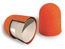 Slijpkap podologie oranje 5 mm (10 st)