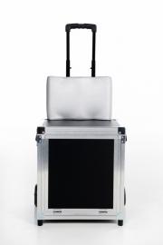 Koffer Eliz met klep (zwart)