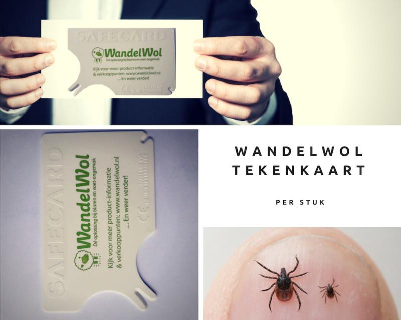Wandelwol Tekenkaart 11 + 1 gratis