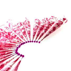 20 voorgerolde henna cones