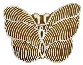 stempel vlinder