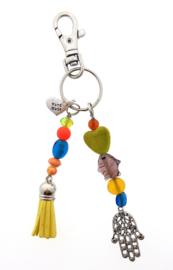 sleutelhanger | tashanger multicolor