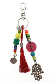 sleutelhanger | tassieraad multicolor