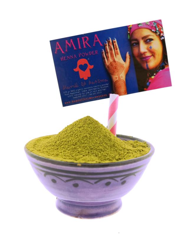 hennapoeder biologisch Amira 1kg