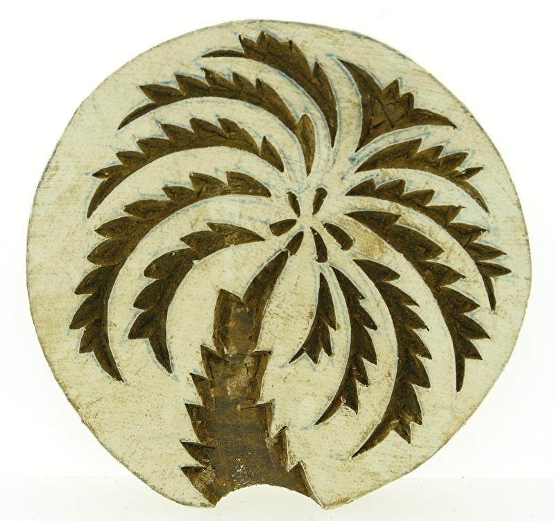 stempel palmboom