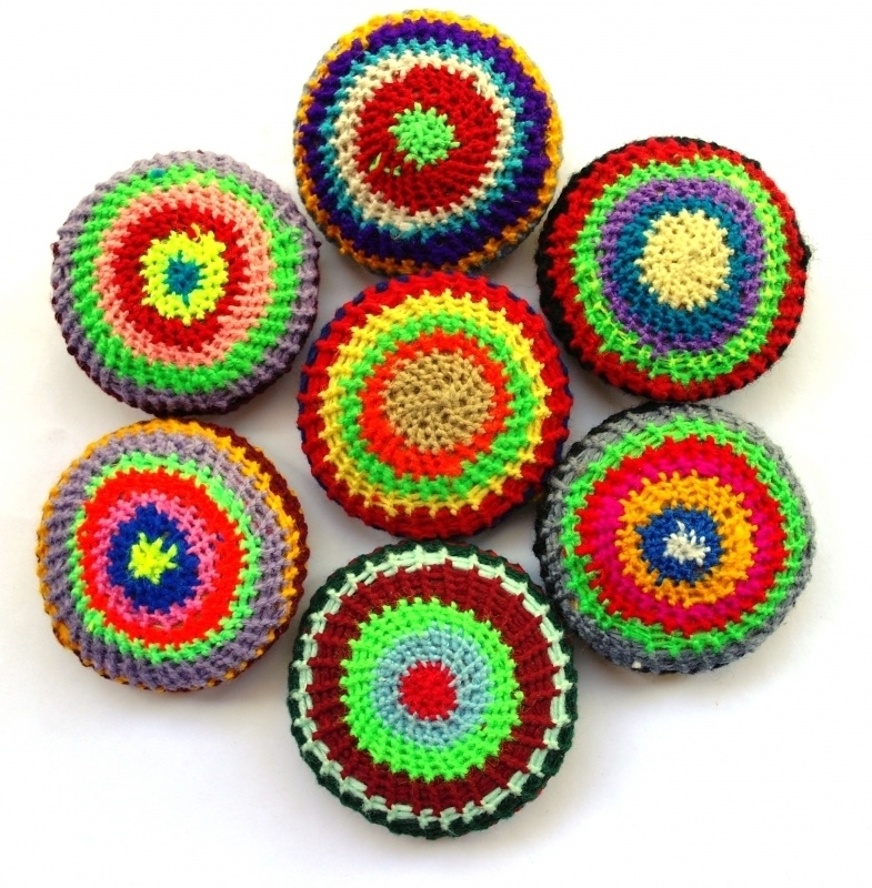 scrubschijfje multicolor