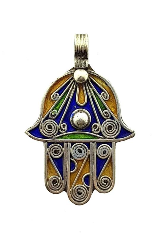 Handje van Fatima hanger zilver  Erina