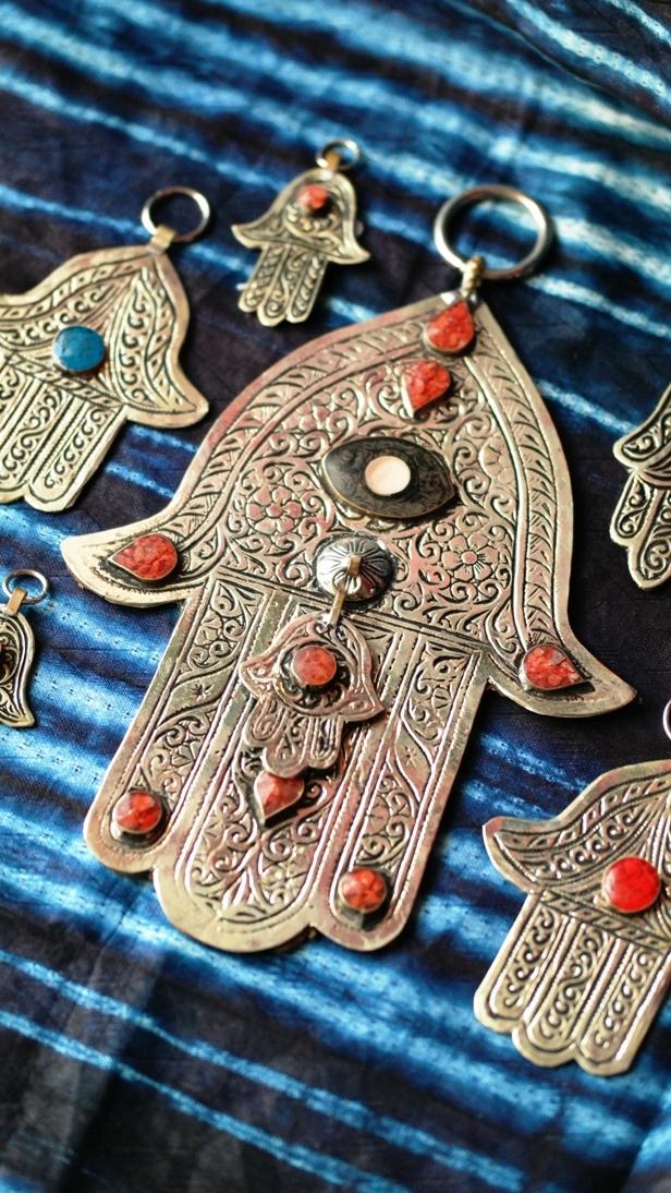 hand van fatima van metaal hamsa khmisa amulet