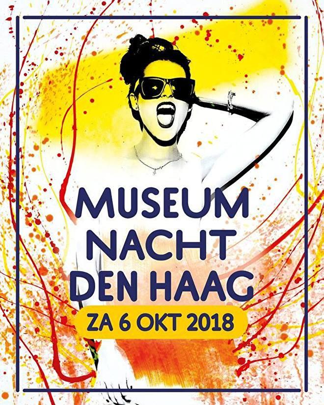 hand of fatima @ museumnacht den haag