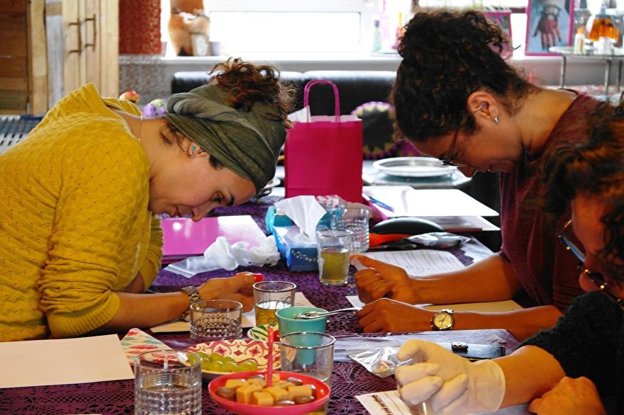 workshop henna kunst hand of fatima