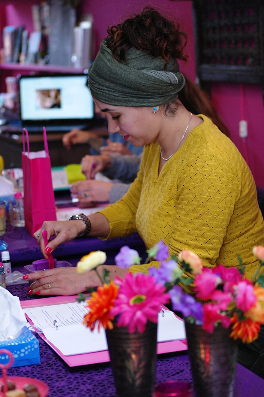 henna workshop hand of fatima