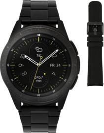 Samsung Galaxy Watch, zwart schakel band