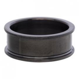 basis ring 0.8 cm zwart