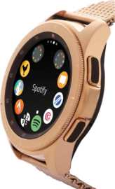 Samsung Galaxy Watch, rosékleurige mesh band