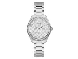 GW0001L1 Guess staal dames horloge