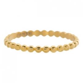 dunne vul ring bolletje gold