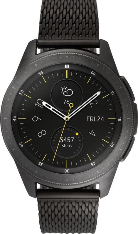Samsung Galaxy Watch, zwarte mesh band
