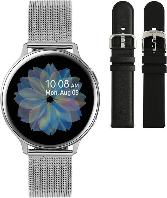 Samsung Active smartwatch stalen Milanese band 44 mm