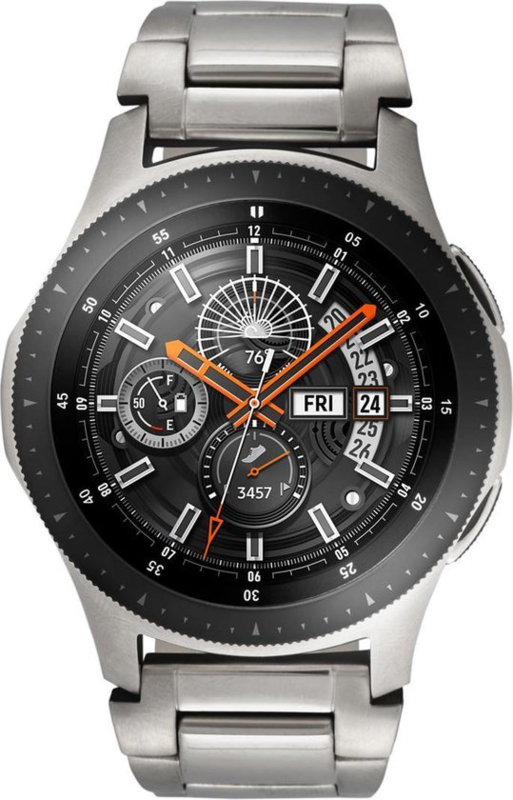 Samsung Galaxy Watch, Stalen Schakelband