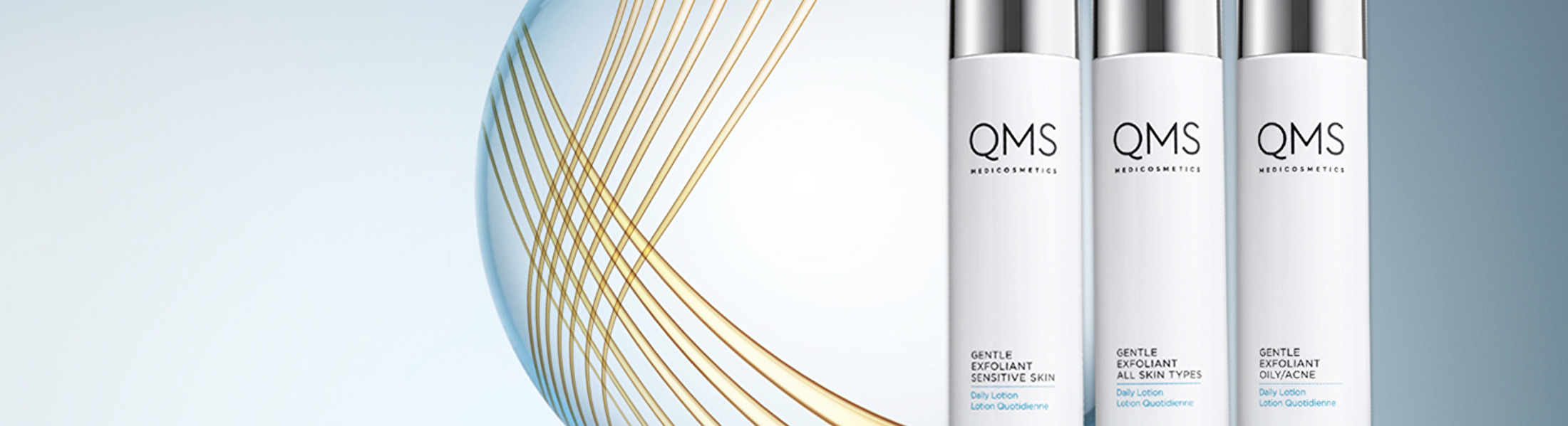QMS Gentle Exfoliant Daily Lotions