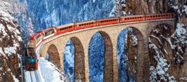 Landwasser Viaduct Zwitserse Alpen B-060016