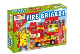 Doos met blokken Brandweer 59 stuks