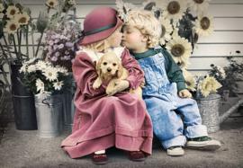 Eerste liefde, First Love Castorland C-104451-2