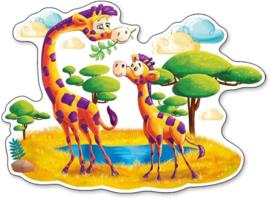 Giraffen op de savanne Castorland B-120178