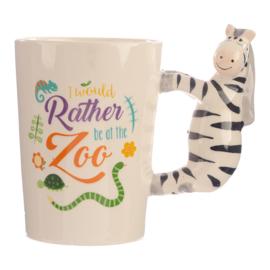 Keramiek mok Zooniverse Zebra