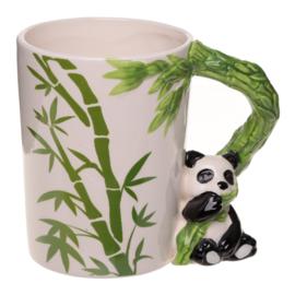 Keramiek mok Panda Bamboe