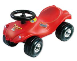 Loopauto Crossauto rood