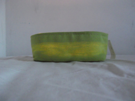 Waxinelichthouder stof set van 2