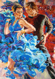 Dance in the Turquoise Tones Castorland C-103287