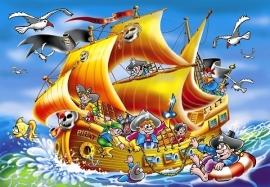 Piratenschip 260 stukjes