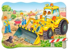 Bulldozer in actie Castorland C-02139-1