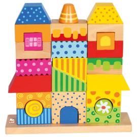 Blokken huis Villa Viola Bino 84151