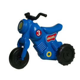 Cross motor blauw