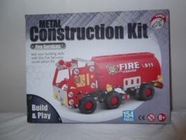 Brandweer tankauto 154 delig