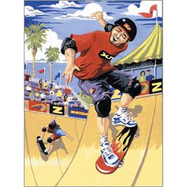 Verven op nummer Skateboarder Royal & Langnickel