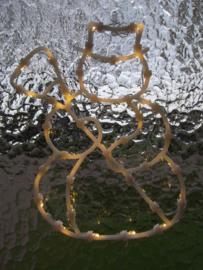 Raamverlichting Sneeuwpop (Klein)