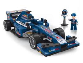 Racewagen Blauw F1 M38-B0353