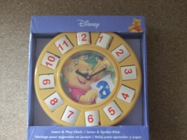 Leer Klok Winnie the Pooh (2623)