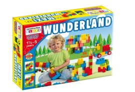 Doos met blokken Wonderland 56 stuks