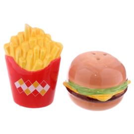 Peper en zoutstel Fast Food