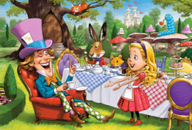 Alice in Wonderland Castorland B-040292-1