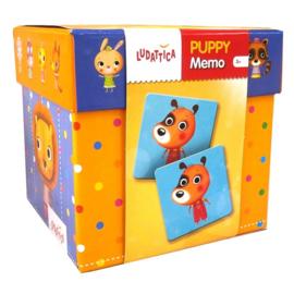 Memory spel Puppy's Ludattica 52448